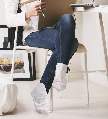 Calcetines exfoliantes progresivos para pies