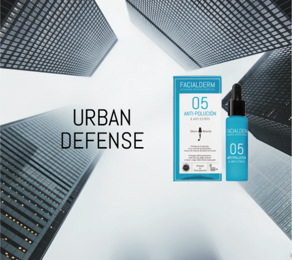 Urban Defense anti-pollution & blue light serum booster, your best ally to take care of your skin in the city